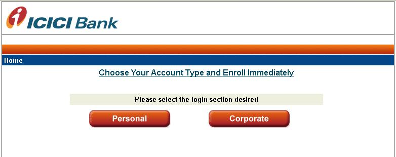 ICICI Bank Phishing Site