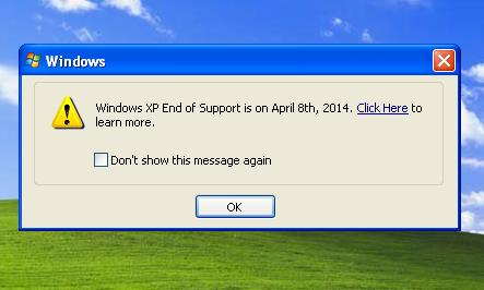 Windows XP - End of Support | Blog eScan
