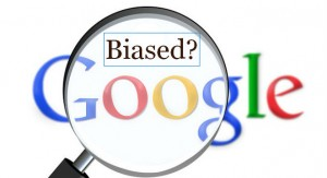 Are Google search results biased?