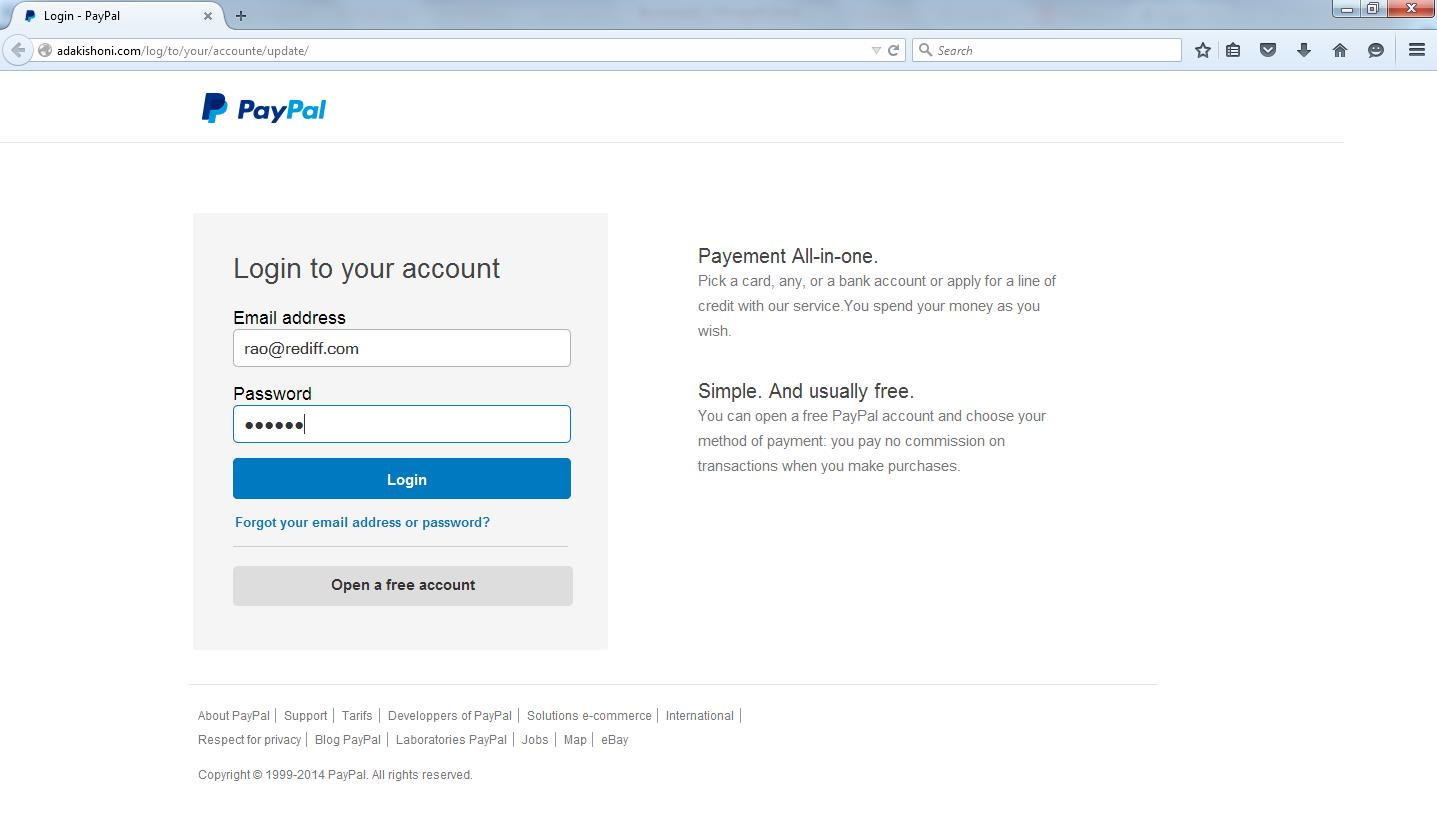 PayPal Phishing Scams - Are You Safe? | Blog eScan
