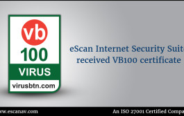 VB100 Test establishes eScan's global standards