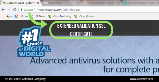 Know about EV SSL Certificate